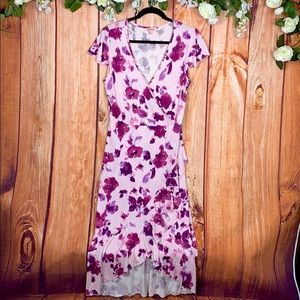 Juicy Couture Watercolor Floral Maxi Dress 1547